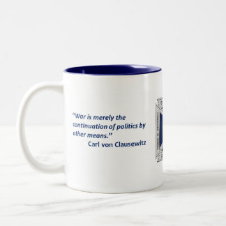 Clausewitz Challenge Coin Coffee Mug