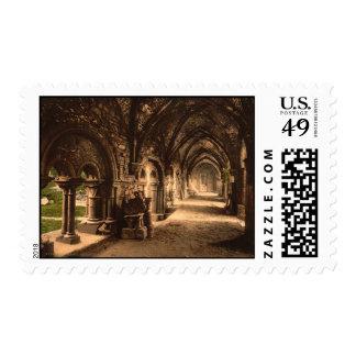 Claustro de la abadía del St Bavon, Gante, Bélgica Sello