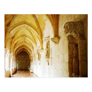 Claustros del monasterio español antiguo, FL Tarjeta Postal