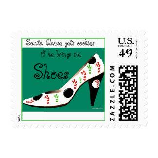 Cláusula y chicas de Sants que aman los zapatos Estampillas