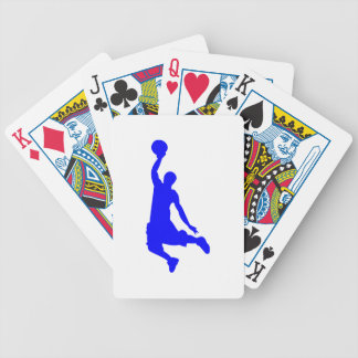 Clavada azul baraja cartas de poker