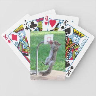 Clavada de la ardilla baraja de cartas