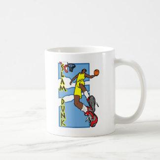 Clavada de los tugurios taza de café