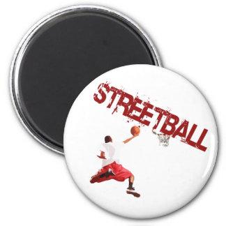 Clavada del baloncesto de la calle imán redondo 5 cm