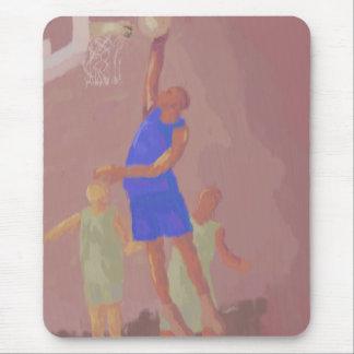 Clavada del baloncesto, Mousepad