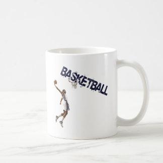 Clavada del baloncesto taza de café