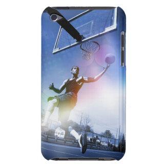 Clavada del jugador de básquet iPod Case-Mate carcasas