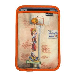 Clavada en aro de baloncesto de Jay Throckmorton Fundas iPad Mini