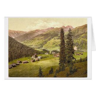 Clavadel, Graubunden, Grisons, Switzerland vintage Cards