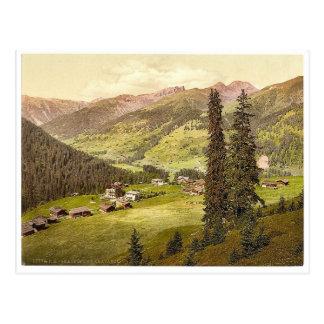 Clavadel, Graubunden, Grisons, Switzerland vintage Postcards