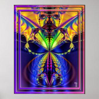 Clavar la impresión del arte de la variación 2 del poster