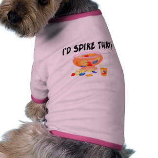 Clavaría ese sacador camiseta de perro