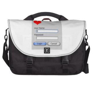 Clave a mi corazón bolsas para portatil
