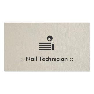 Clave al profesional elegante simple del técnico tarjetas de visita