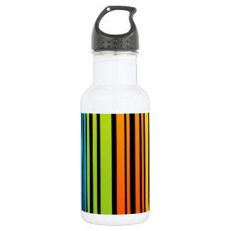 Clave de barras coloreadas del arco iris
