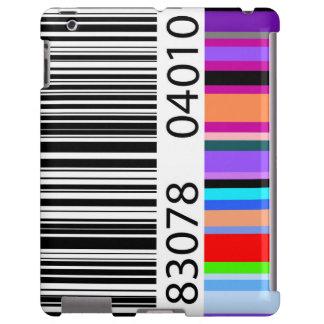 Clave de barras de color funda para iPad
