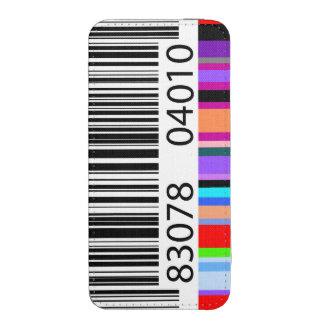 Clave de barras de color funda acolchada para iPhone