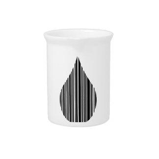 Clave de barras de la gotita jarra