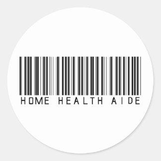 Clave de barras del asistente de las asistencias s etiqueta