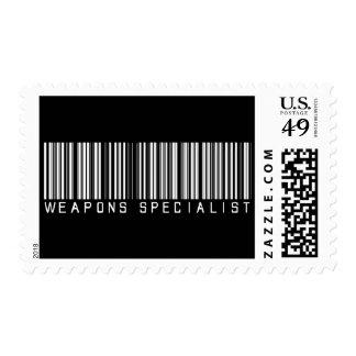 Clave de barras del especialista de las armas franqueo
