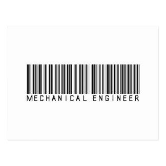 Clave de barras del ingeniero industrial postal