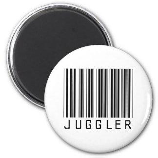 Clave de barras del juglar imán redondo 5 cm