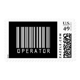 Clave de barras del operador sellos