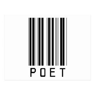 Clave de barras del poeta postal