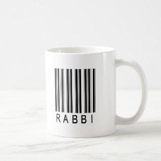 Clave de barras del rabino taza básica blanca