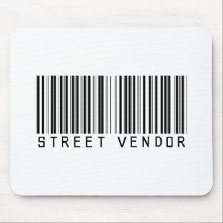 Clave de barras del vendedor ambulante tapetes de ratón