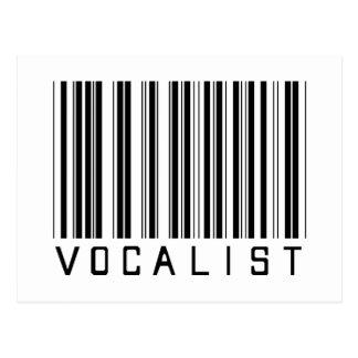 Clave de barras del vocalista postal