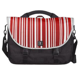 clave de barras femenina roja bolsas para portatil