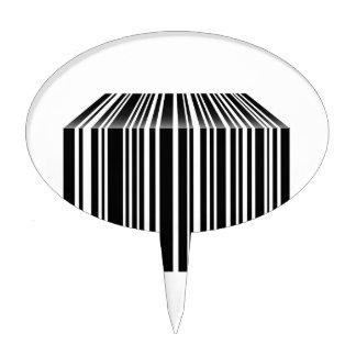 Clave de barras formada como la tabla palillos de tarta