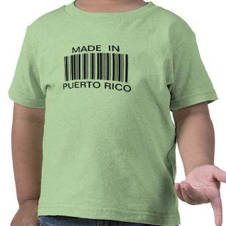Clave de barras genérica hecha en camiseta