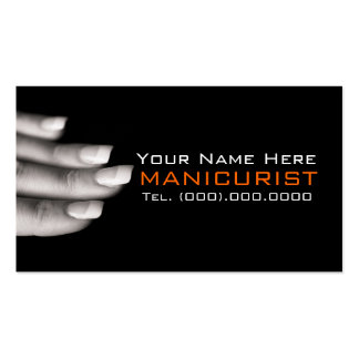 Clave las tarjetas de visita profesionales del man