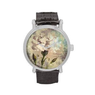 Clavel del estilo del Grunge + Manosee el reloj de