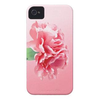 Clavel rosado funda para iPhone 4