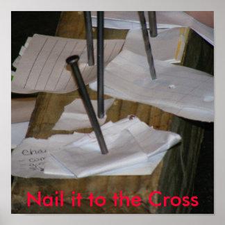 Clávelo a la cruz poster
