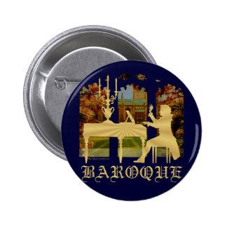 Clavicordio barroco pin redondo 5 cm