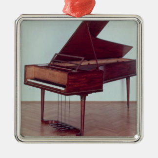 Clavicordio que pertenece a Ludwig van Beethoven Adorno Navideño Cuadrado De Metal