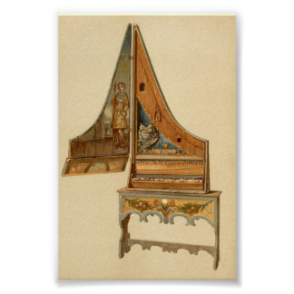 Clavicytherium or Upright Spinet Poster
