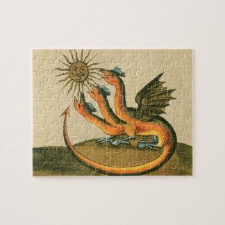 Clavis Artis Alchemy Dragons Jigsaw Puzzle