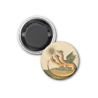 Clavis Artis Dragon Sepia Magnet