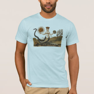 Clavis Artis Merman with Sun and Moon T-Shirt