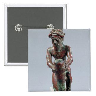 Clavo de la fundación de Gudea, príncipe de Lagash Pin Cuadrada 5 Cm