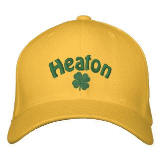 Clavo de la hoja de Heaton cuatro Gorras De Béisbol Bordadas