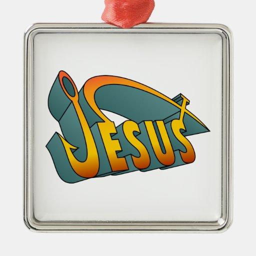 Clavo de los pescados de Jesús Adorno De Navidad