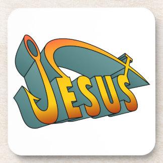 Clavo de los pescados de Jesús Posavasos De Bebidas