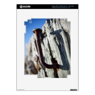 Clavo doblado en el Sun iPad 3 Pegatina Skin