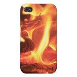 Clavo en el fuego iPhone 4 protectores